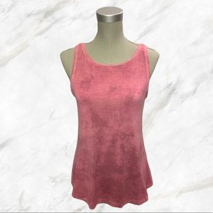 4/$30 🌺 AEO | Custom Tie-Dyed Pink Tank Top